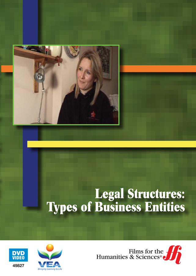 the legal structures A: there are four main factors to consider when an entrepreneur decides on the form of organization that best fits her business: taxes, limitation of personal liability, ease of transferability.