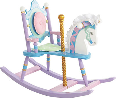 Levels of Discovery CAROUSEL ROCKING HORSE