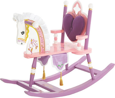 Levels of Discovery PRINCESS ROCKING HORSE