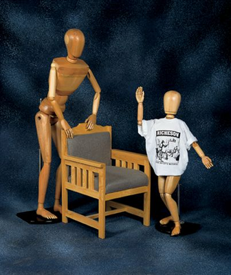 Richeson LIFE SIZE MALE MANIKIN - Click to enlarge
