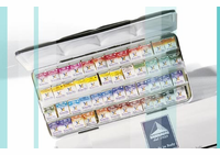MAIMERIBLU WATERCOLOUR HALF PAN METAL BOX Sets