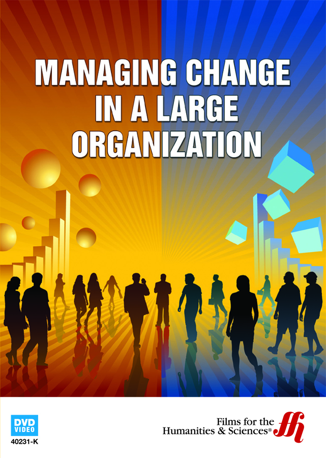 managing change in an organization Organizational change can occur in response to internal or external factors this lesson focuses specifically on those changes that occur in a.