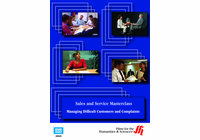 Managing Difficult Customers and Complaints: Sales and Service Masterclass (Enhanced DVD)