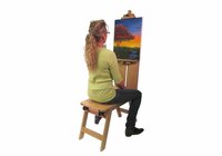 Martin Rolling Wooden Bench Style Easel