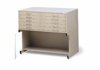 Mayline� 5-Drawer C-File Sand