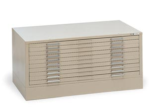 "Mayline Self-Contained Steel 5-Drawer C-Files (for 24"" x 36"" Sheets)"