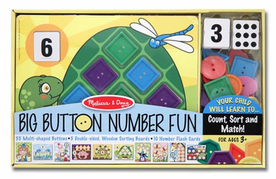 Melissa & Doug Big Button Number Fun - Click to enlarge