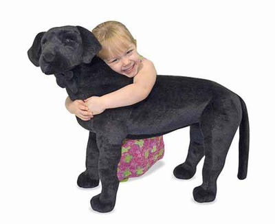 Melissa & Doug Black Lab - Plush - Click to enlarge