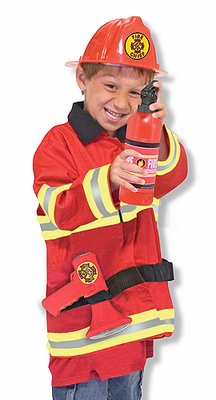 Melissa & Doug Fire Chief Role Play Costume Set - Click to enlarge