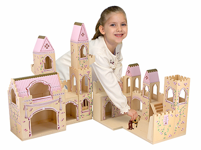 Melissa & Doug Folding Princess Castle - Click to enlarge