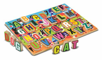 Melissa & Doug Jumbo ABC Chunky Puzzle - Click to enlarge