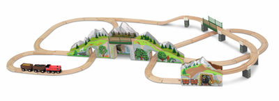 Melissa & Doug Mountain Railway Train Set - Click to enlarge