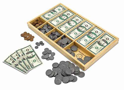 Melissa & Doug Play Money Set - Click to enlarge