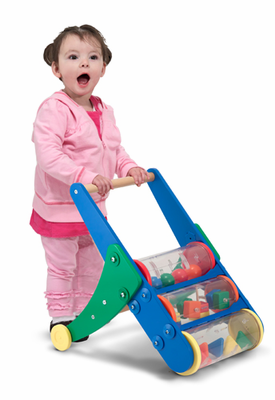 Melissa & Doug Rattle & Roll Push Toy - Click to enlarge