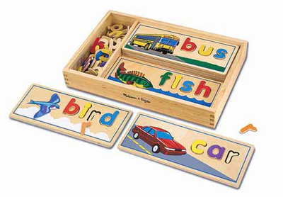 Melissa & Doug See & Spell - Click to enlarge