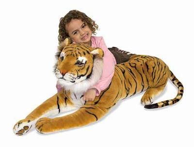 Melissa & Doug Tiger - Plush - Click to enlarge