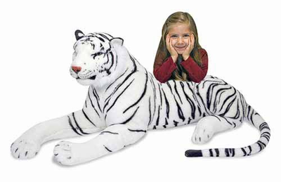 Melissa & Doug White Tiger - Plush - Click to enlarge