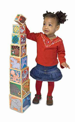 Melissa & Doug Wooden Animal Nesting Blocks - Click to enlarge