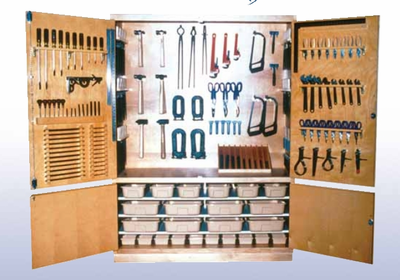 Metalworking Tool Storage Cabinet