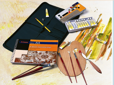 Museum Complete OIL Media Art Kit