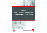 New Vision: Experimental Photography of the 1920s�Photo  (Enhanced DVD)
