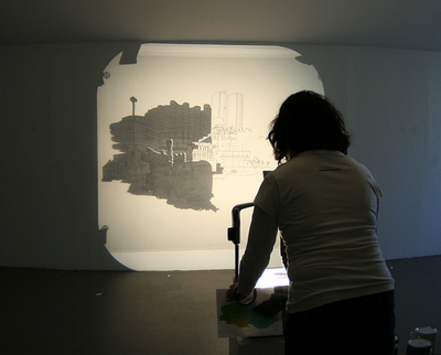 Opaque Projectors and Art