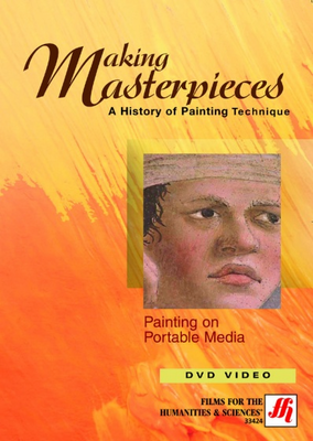 Painting on Portable Media Video (DVD)