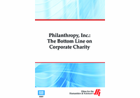 Philanthropy, Inc.: The Bottom Line on Corporate Charity (Enhanced DVD)