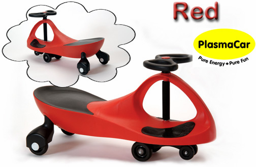 the plasmacar is an innovative toy that is fun to ride no batteries or power source is required kids provide all the energy necessary to propel this toy