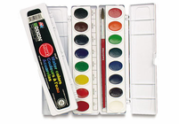 Prang Watercolor SET OVAL 16 color PAN set
