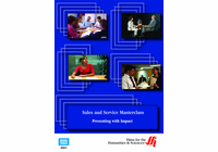 Presenting with Impact: Sales and Service Masterclass (Enhanced DVD)