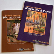 QUILLER Watercolor BLOCK (12 sheets) - 15in x 22in - 140 lb. COLD PRESS 12/SHT #100521