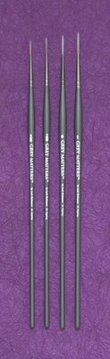 Richeson GREY MATTERS SET of 4 SIGNING BRUSHES