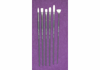 Richeson GREY MATTERS SET of 6  BRISTLE BRUSHES
