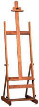 Richeson Lyptus Wood Aztec Easel - Click to enlarge