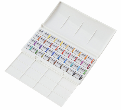 RICHESON Ultimate Set of 36 Professional Petersburg Watercolor Set - Click to enlarge