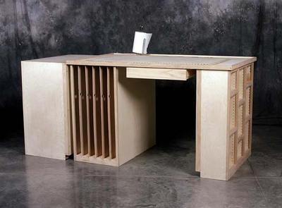 Richeson Work Station (ALL 5 Parts Included) - Click to enlarge