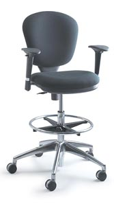 SAFCO® Metro Extended Height Chair