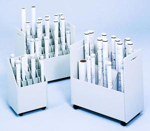 Safco Roll File  - 20 Slots