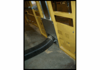 SAW TRAX Frame Dust Collection