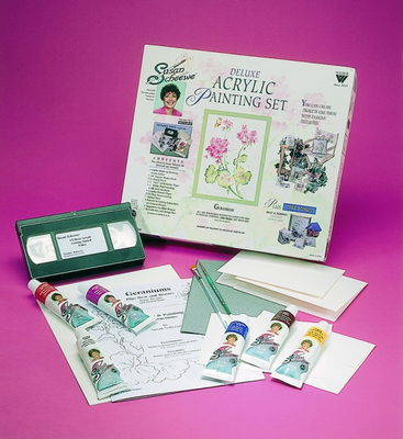 SCHEEWE DELUXE ACRYLIC SET WITH DVD - Click to enlarge
