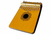SCHOENHUT Oak Mahognay 12 Note Thumb Piano
