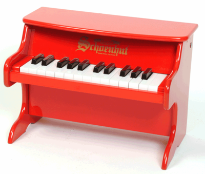 Schoenhut Tabletop�Pianos - 25�Key�My�First�Piano�II 2522 - Click to enlarge