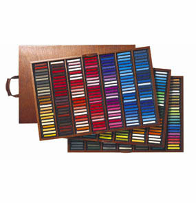 SENNELIER SOFT PASTEL LUXURY WOOD BOX SET OF 525