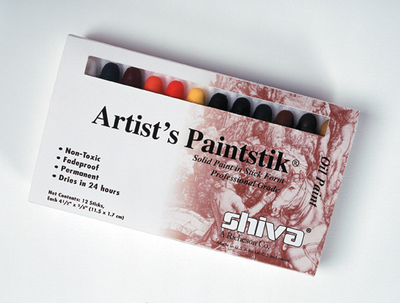 SET OF 12 SHIVA PROFESSIONAL PAINTSTIKS - Click to enlarge