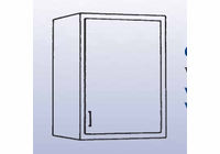 Single Door Unit - Wall Mounted Cabinet-6