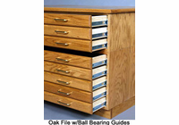SMI OAK FLAT FILE with Cap & Base