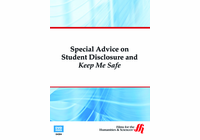 Special Advice on Student Disclosure and Keep Me Safe (Enhanced DVD)