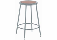 "DIVERSIFIED WOODCRAFTS Steel Stool � 24"" High"