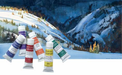 Stephen Quiller Watercolors - All 35 original Colors in 15 ML Tubes